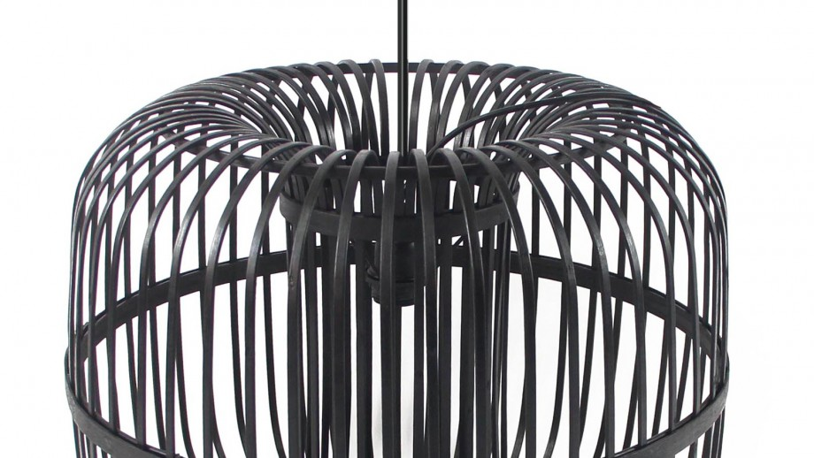 Suspension en bambou noir - Taille S - Collection Sundown