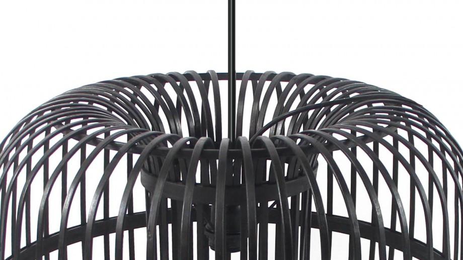 Suspension en bambou noir - Taille L - Collection Sundown