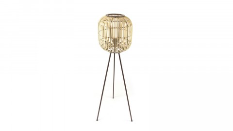 Lampadaire en bambou - Taille S - Collection Sunlight