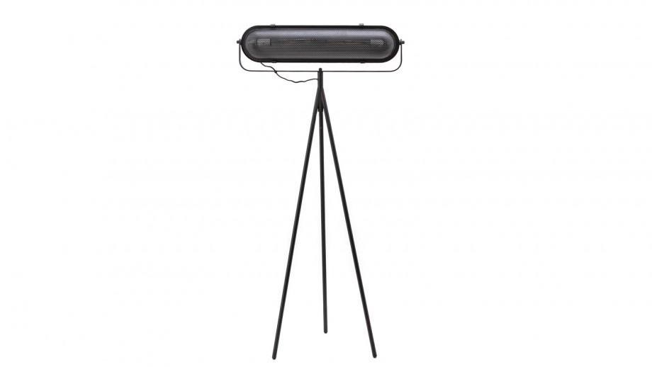 Lampadaire sur pieds en métal noir - Collection Bernini
