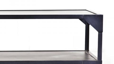 Table basse en métal noir - Collection Nozare
