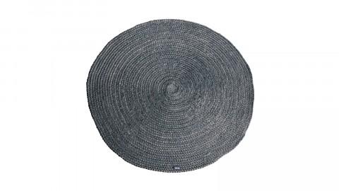 Tapis rond en jute gris ⌀120cm - Collection Oly