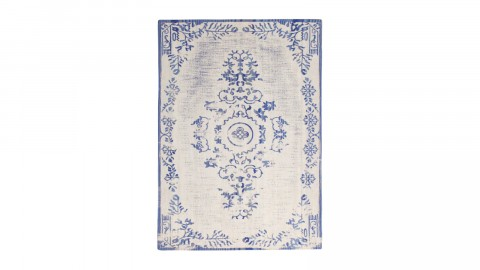 Tapis baroque bleu 160x230cm - Collection Oase