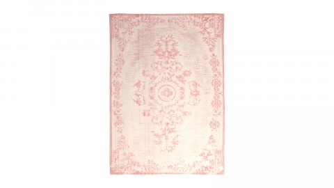 Tapis baroque rose 200x290cm - Collection Oase