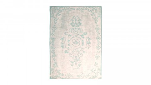 Tapis baroque vert menthe 200x290cm - Collection Oase