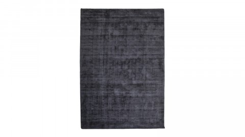 Tapis effet délavé anthracite 160x230cm - Collection Cozy