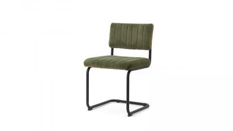 Lot de 2 chaises en velours vert - Collection Chair