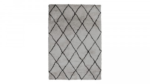 Tapis berbère gris 160x230cm - Collection Rox