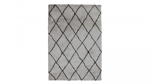 Tapis berbère gris 200x300cm - Collection Rox