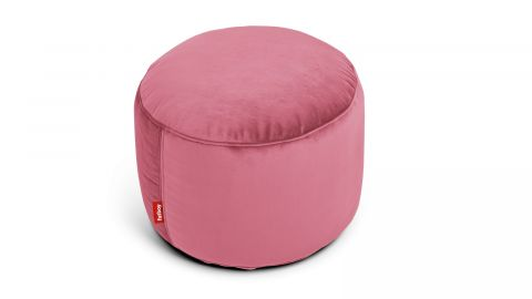 Pouf rond en velours - Point - Fatboy