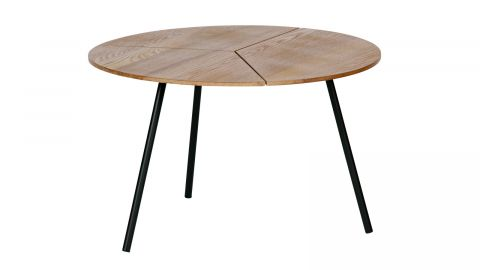 Table basse ø60 en bois et métal - Collection Rodi - Woood
