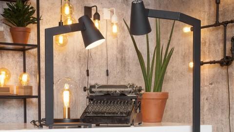 Lampe de table en métal noir - Collection Biarritz - It's About Romi