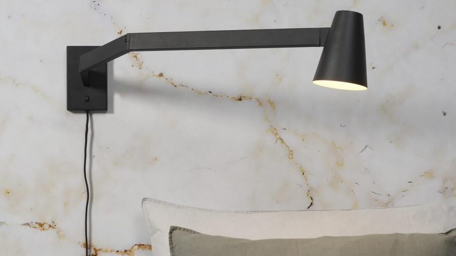 Applique longue en métal noir - Collection Biarritz - It's About Romi