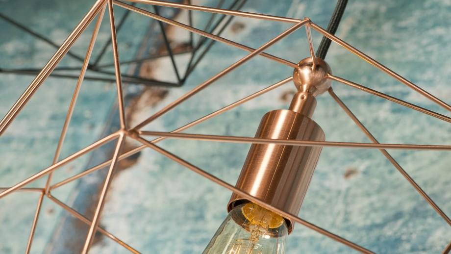 Suspension en métal noir - Collection Copenhagen - It's About Romi