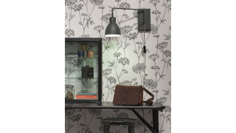 Applique murale en métal gris - Collection Nottingham - It's About Romi