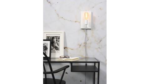 Applique murale en métal blanc - Taille L - Collection Madrid - It's About Romi