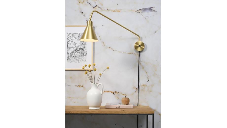Applique murale en métal doré - Collection Lyon - It's About Romi