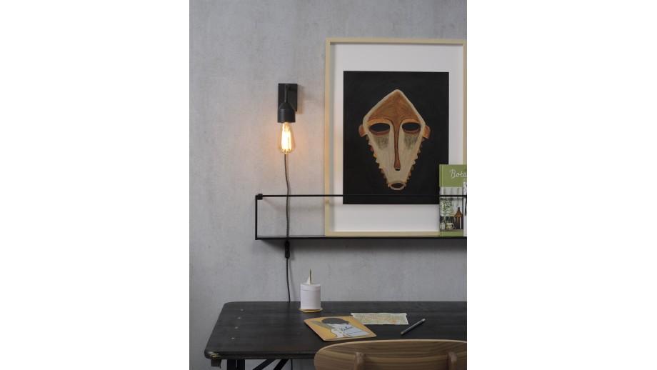 Applique murale en métal noir - Taille S - Collection Madrid - It's About Romi