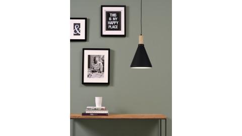Suspension en bois et métal noir - Taille S - Collection Melbourne - It's About Romi