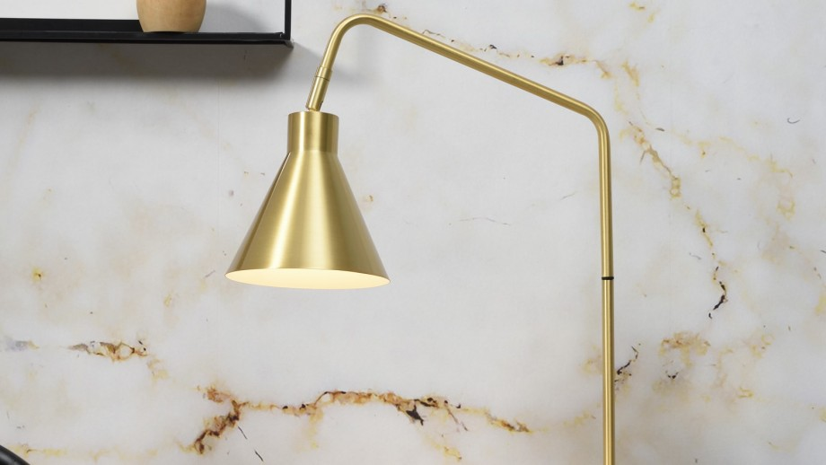 Lampe à poser en métal doré - Collection Lyon - It's About Romi