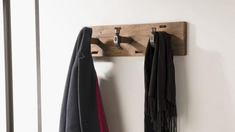 Porte manteau mural 3 crochers en teck - Collection Sixtine