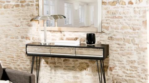 Miroir en acacia - Collection Carmen