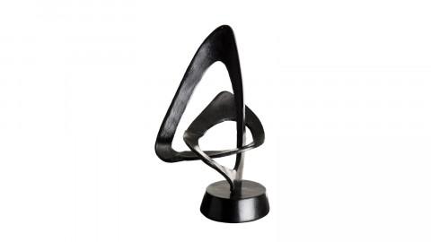 Décoration en aluminium noir - Collection Johan