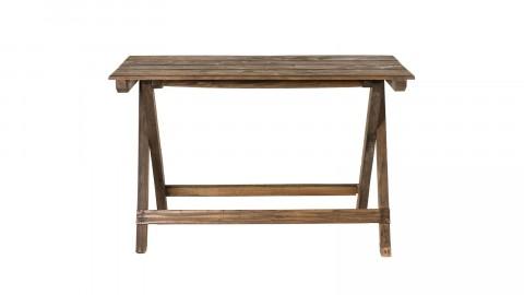 Table pliante en mahogagny - Collection Nora
