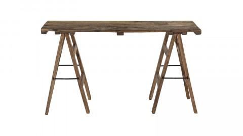Console tréteaux en bois recyclé - Collection Nora