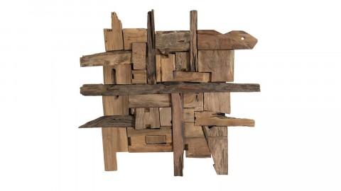 Décoration murale en bois flotté modèle 7 - Collection Paolo