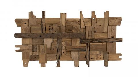 Décoration murale en bois flotté modèle 11 - Collection Paolo