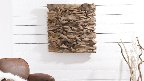 Décoration murale en bois flotté modèle 13 - Collection Paolo