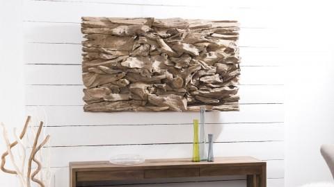 Décoration murale en bois flotté modèle 14 - Collection Paolo