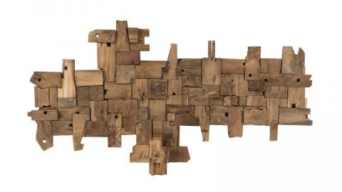 Décoration murale en bois flotté modèle 19 - Collection Paolo