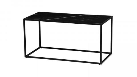 Table d'appoint 90x45 en marbre noir - Collection Side - Vtwonen