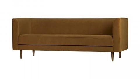 Canapé 3 places en velours canelle - Collection Studio - Vtwonen