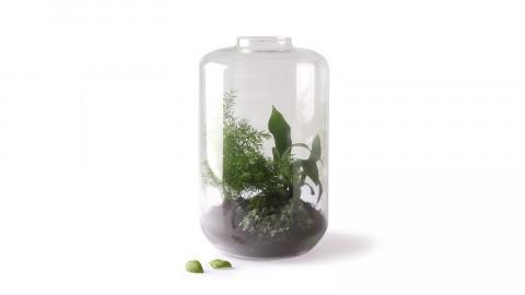Mini vase en verre - HK Living