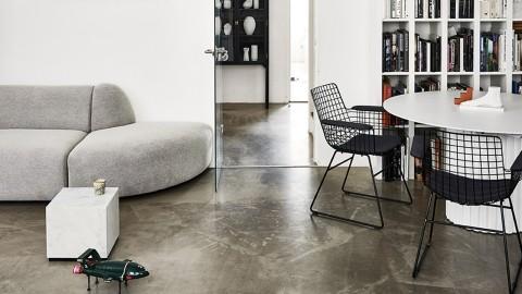 Kit confort pour fauteuil (haut de dossier, assise, accoudoirs) en tissu noir - HK Living