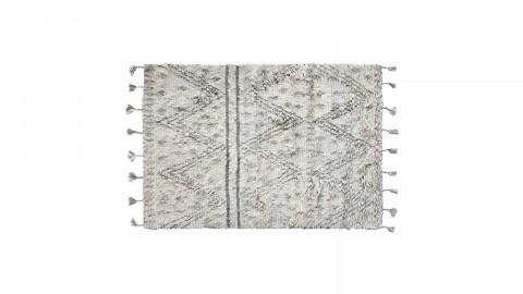 Tapis berbère en laine avec pompons 180x280cm - HK Living