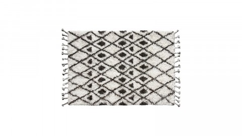 Tapis berbère en laine avec pompons 120x180cm - HK Living