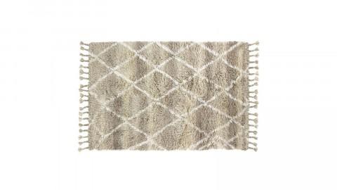 Tapis berbère en laine naturelle 120x180cm - HK Living