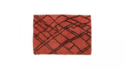 Tapis berbère en laine rouge 120x180cm - HK Living