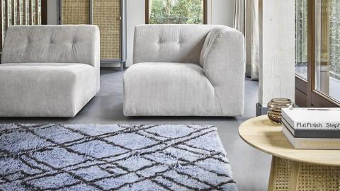 Tapis berbère en laine gris/bleu 180x280cm - HK Living
