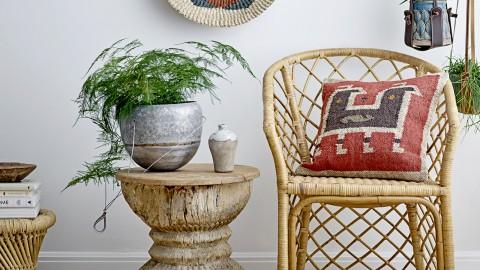 Fauteuil en rotin naturel - Collection Edy - Bloomingville