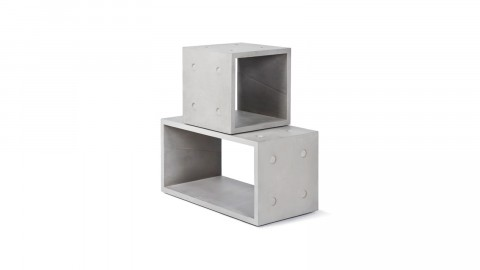 Combo de rangement 1M + 1L - Collection Dice - Lyon Beton