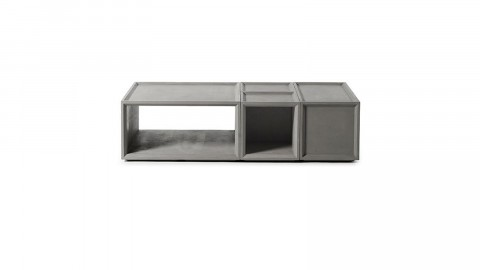 Combo table basse + 2S +1M - Collection Plus - Lyon Beton