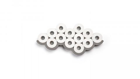 Etagère pour papier toilette L en béton - Collection Cloud - Lyon Beton