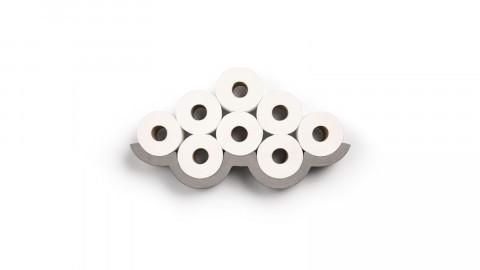 Etagère pour papier toilette S en béton - Collection Cloud - Lyon Beton