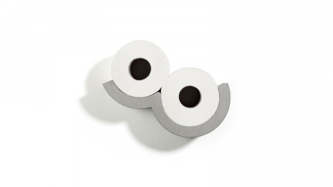 Distributeur de papier toilette en béton - Collection Cloud - Lyon Beton