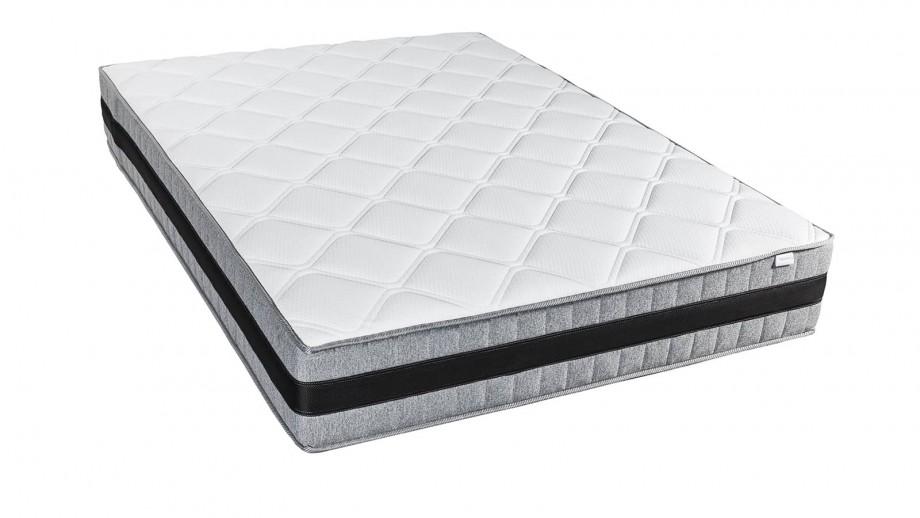 matelas m moire de forme 140x190 memo luxe hbedding mousse ergonomique haute densit et visco. Black Bedroom Furniture Sets. Home Design Ideas